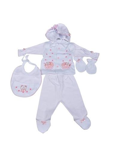 Sema Bebe 5 Li Prematüre Hastane Çıkışı Pembe